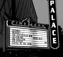 Movie Theater Neon Lights by Clayton Lyon
