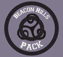 Beacon Hills Pack T-shirt Kids Clothes
