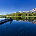 Patricia Lake and Pyramid Mountain, Jasper by Charles Kosina