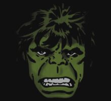 Hulk angry face by borntodesign