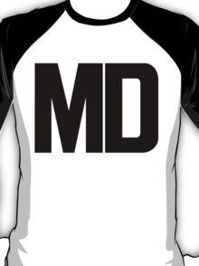 Maryland MD Black Ink T-Shirt