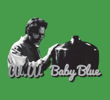 Baby Blue - Breaking Bad (black and white) by Omar S.