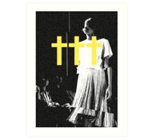 ††† (Crosses) - Yellow Variant Art Print