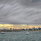Melbourne clouds by collpics