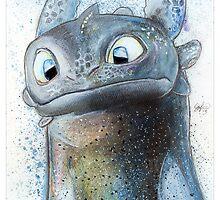 Garish Toothless by lukefielding