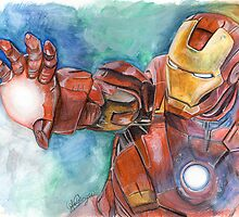 Iron Man by lukefielding