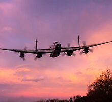 Lancaster Sunset by J Biggadike