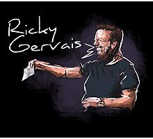 Ricky Gervais - Comic Timing Photographic Print