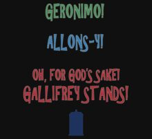 GERONIMO! ALLONS-Y! OH, FOR GOD'S SAKE! GALLIFREY STANDS! by mist3ra
