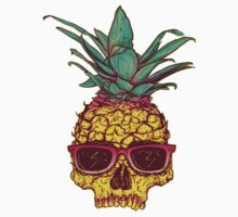 Pineapple Skull by SelinSparkle