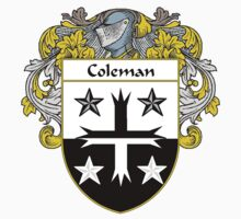 Coleman Coat of Arms/Family Crest by William Martin