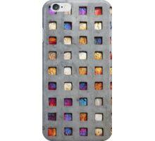 Red Grid Phone Case iPhone Case/Skin