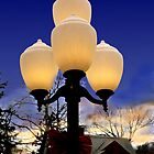 Xmas Lamps by Kenneth Hoffman