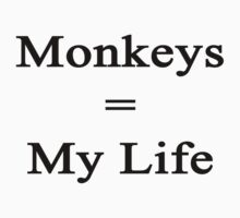 Monkeys = My Life by supernova23
