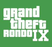 Rajon Rondo - Grand Theft Rondo (NBA Boston Celtics) by gsic