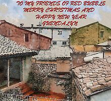 FROM MY WINDOW...BUON NATALE- vetrina RB EXPLORE 2 GENNAIO 2014 - by Guendalyn