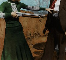 Bonnie & Clyde Colorized by ☼Laughing Bones☾