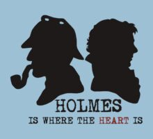 Sherlock Holmes is Where the Heart is by lyneo