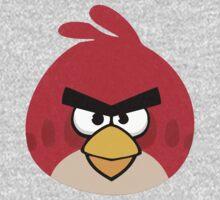 Grumpy Bird (Red) by AntKazama