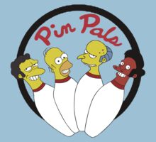 PIN PALS BOWLING T-SHIRT 3 (the simpsons) by Ritchie 1