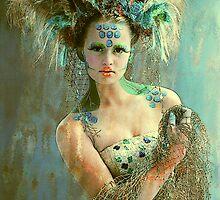 Beautiful Sea Urchin by Maynard Ellis