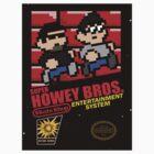 Super Howey Bros. (sticker) by gorillamask