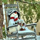 Country Snowman by Diana Graves Photography