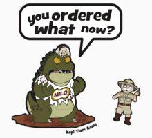 Milo Godzilla by Afzainizam Zahari