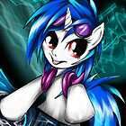 DJ Pon3 aka Vinyl Scratch by AngelTripStudio