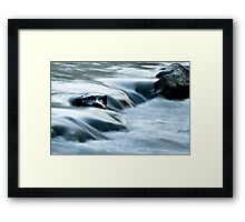 Obstacles Bring About Beauty Framed Print