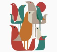Flock of birds Kids Clothes