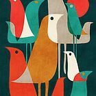 Flock of birds by Budi Satria Kwan