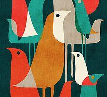Flock of birds by Budi Satria Kwan