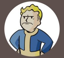 Fallout - Grumpy Vault Boy Kids Clothes