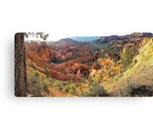Sunrise Point Panorama - Bryce Canyon, Utah, USA Canvas Print