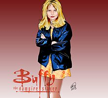 Buffy The Vampire Slayer by erintq