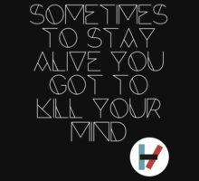 migraine - twenty one pilots (white) by ichabodsss