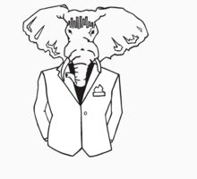 Elephant In a Tux by Nandi Harrison
