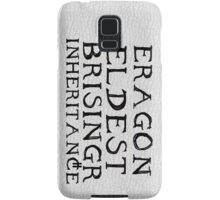 The Inheritance Cycle Typography Samsung Galaxy Case/Skin