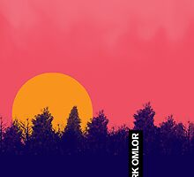 20 FOR 20: FOREST SUNSET by Mark Omlor