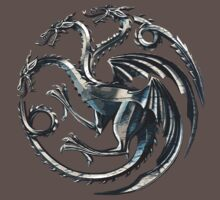 House Targaryen Game of Thrones Fire and Blood by Haranteal