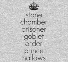Harry Potter Book Titles T-Shirt