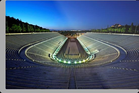 The Panathenaic Stadium by Hercules Milas