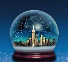New York Snow Globe by moorezart