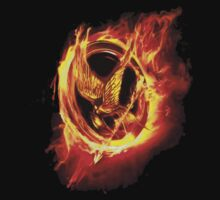 The Hunger Games 2 Mockingjay Pin by Kwon  Woo