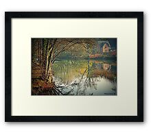 Reflecting Winter Framed Print