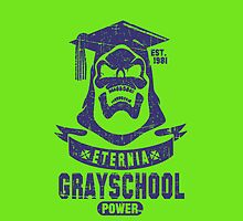 GraySchool II Iphone by loku