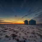 Twilight Silos 6041_13 by Ian McGregor
