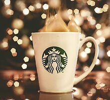 Starbucks Coffee fire by ARIANA1985
