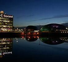 BBC Scotland, Glasgow Science Centre and Glasgow Tower by Escocia Photography